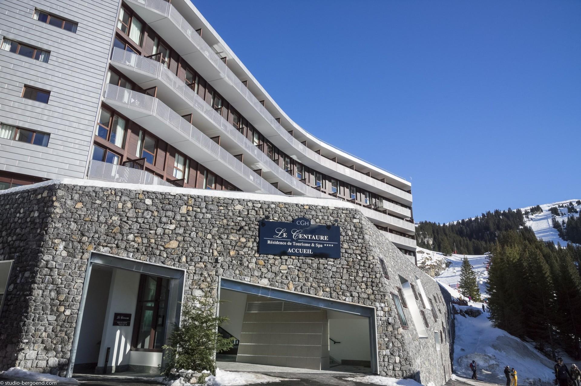 Flaine Rental Apartment Luxury Fangite Duplex Outside