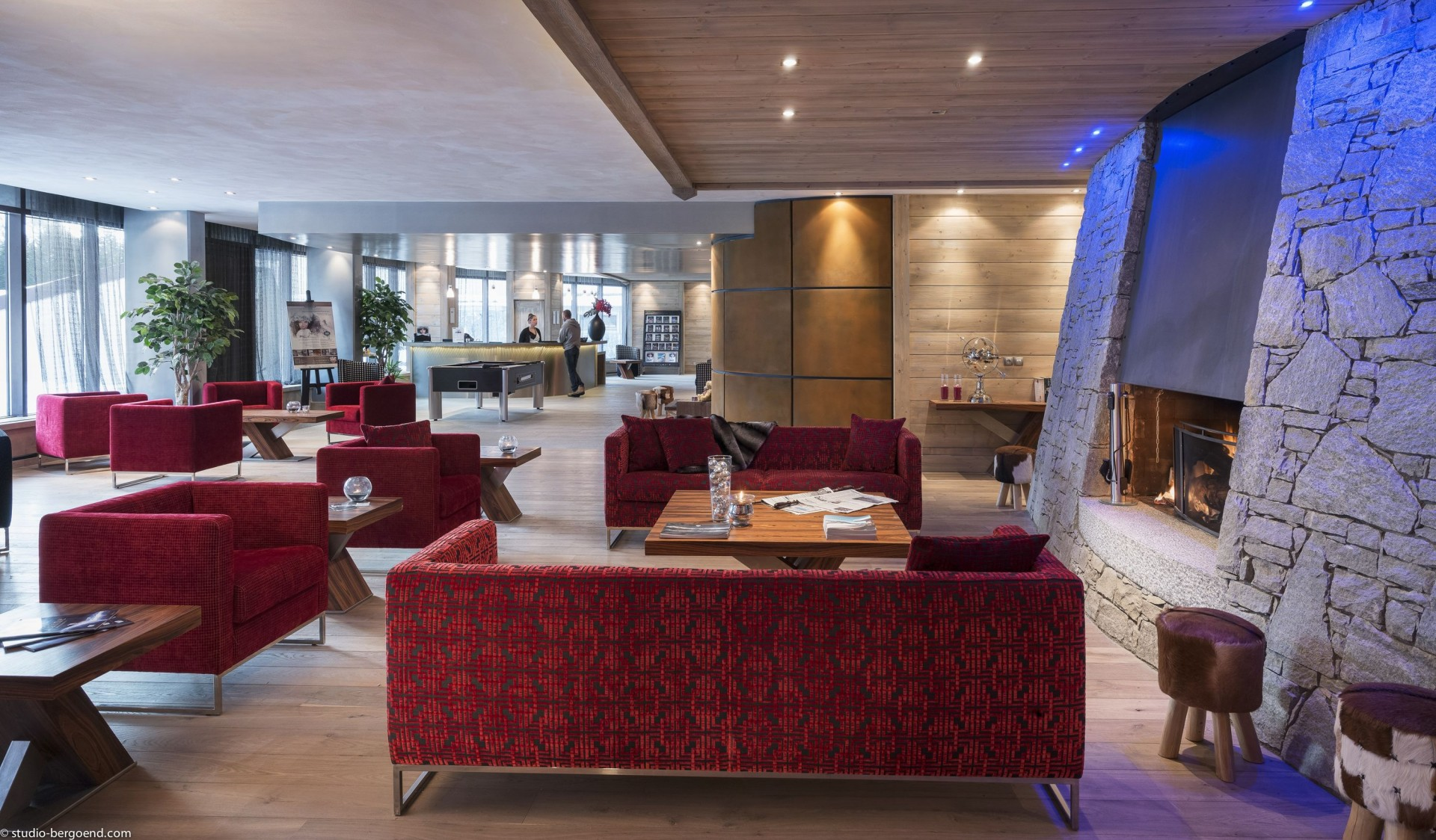 Flaine Rental Apartment Luxury Fangite Duplex Reception 1