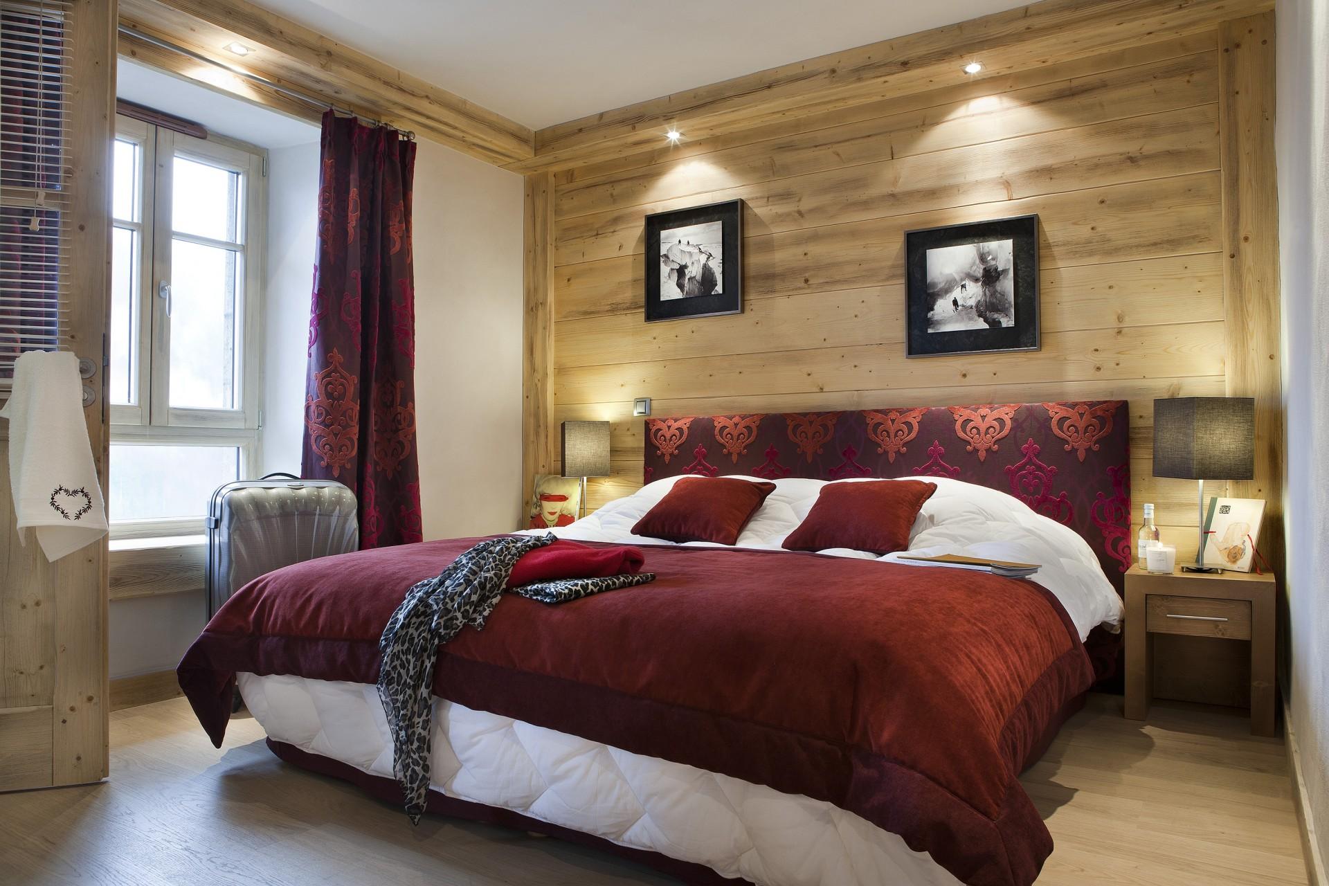 Flaine Location Appartement Luxe Fassaite Duplex Chambre