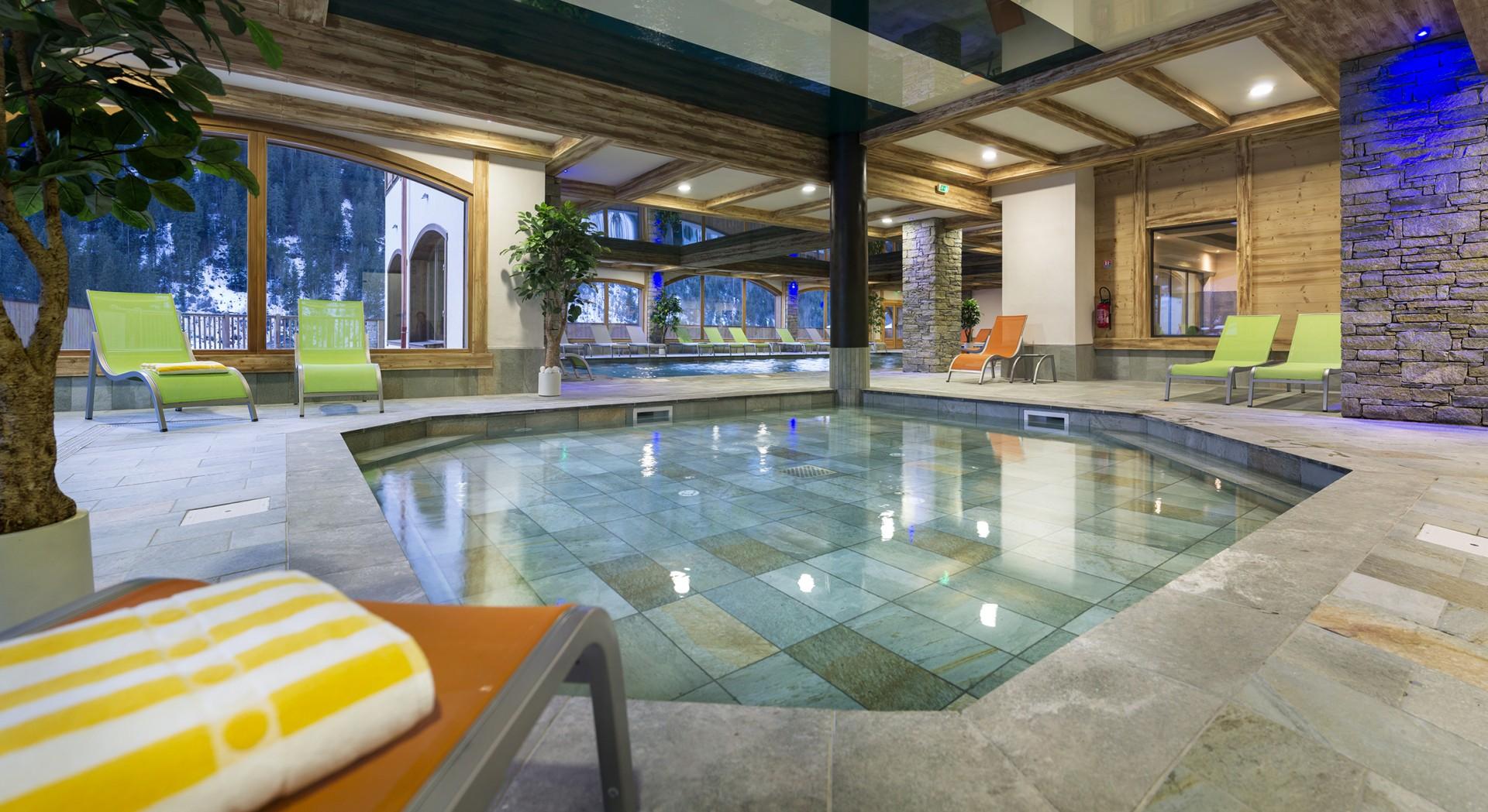 Flaine Rental Apartment Luxury Fassite Jacuzzi