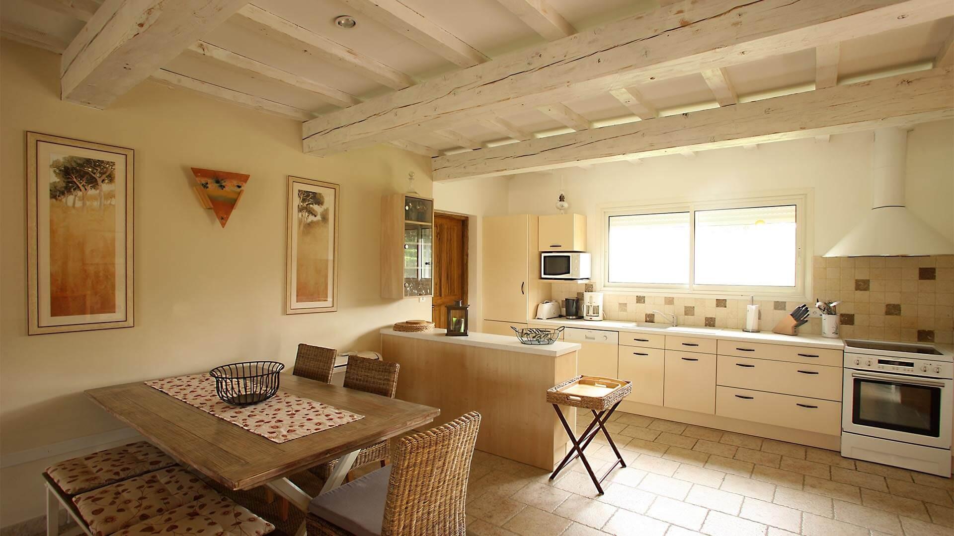 Forcalquier Location Villa Luxe Lunute Cuisine