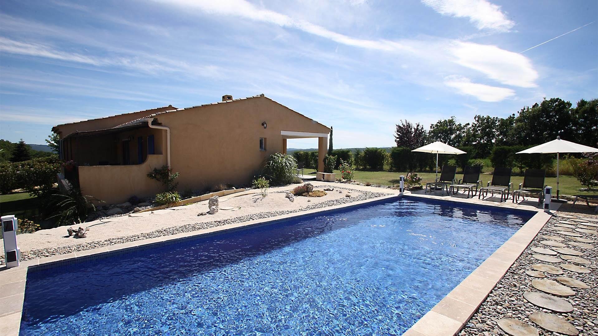 Forcalquier Location Villa Luxe Lunute Piscine