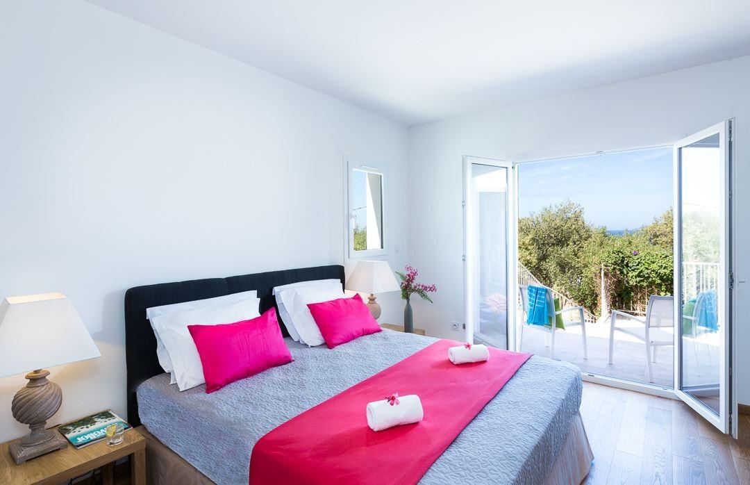 Ile Rousse Location Villa Luxe Artizite Chambre2