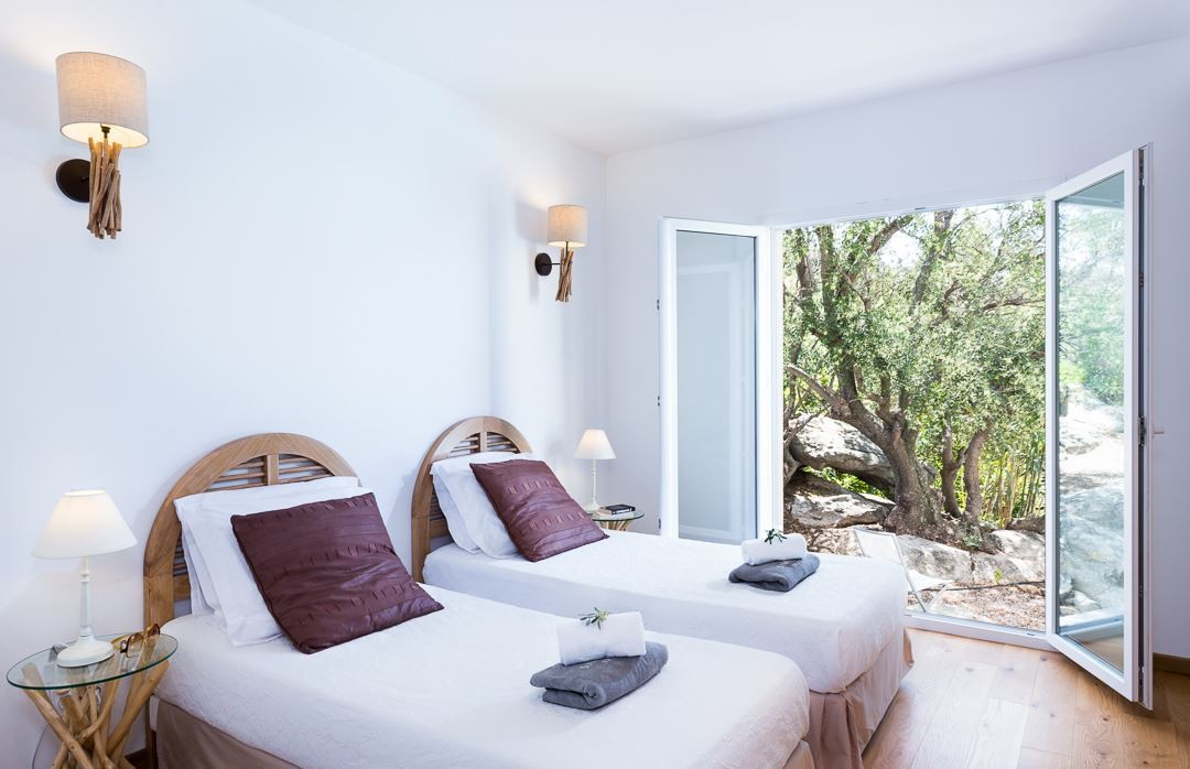 Ile Rousse Location Villa Luxe Artizite Chambre3