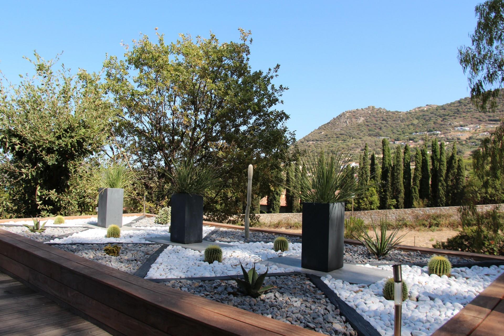 Ile Rousse Location Villa Luxe Haubari Jardin
