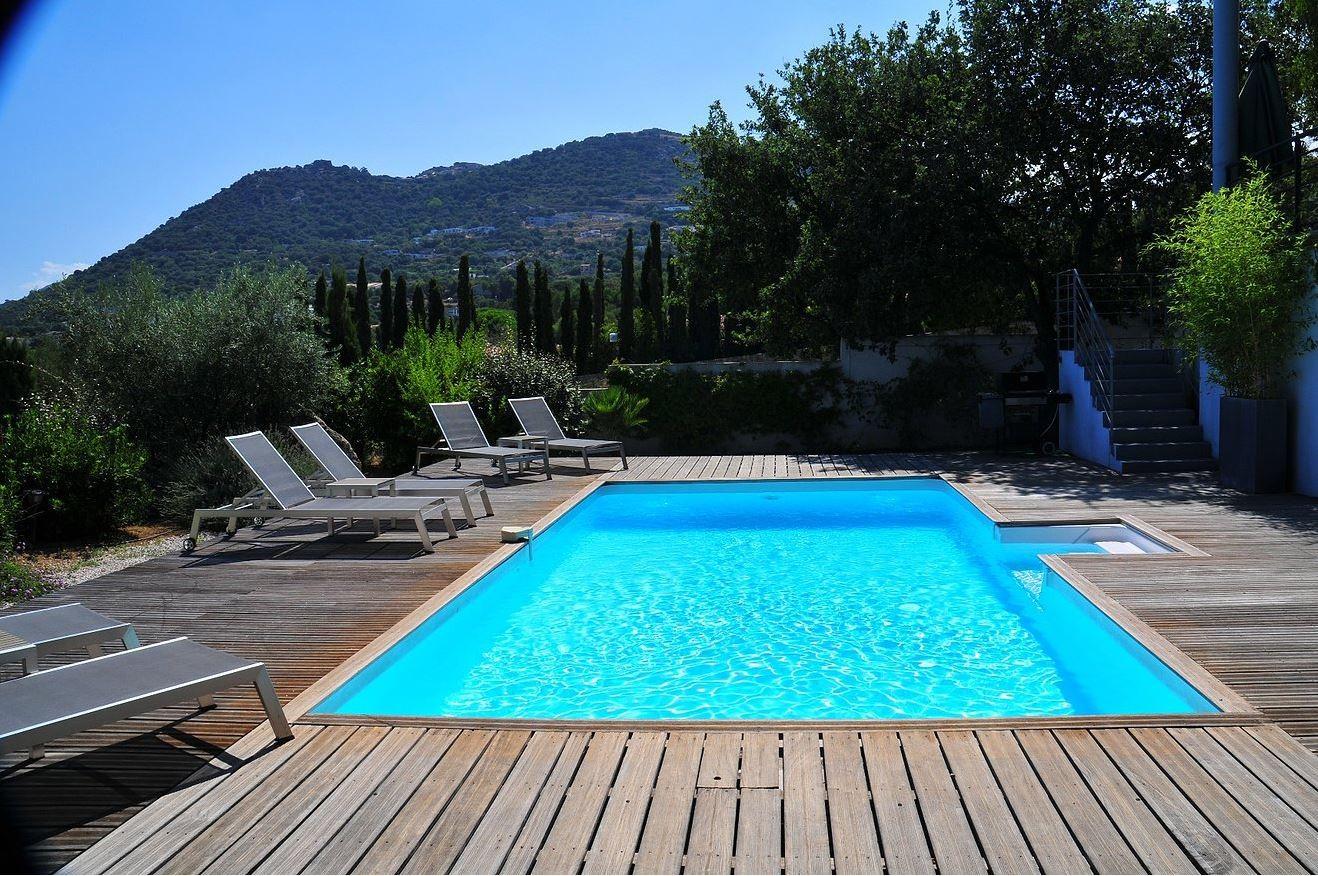 Ile Rousse Location Villa Luxe Haubari Piscine