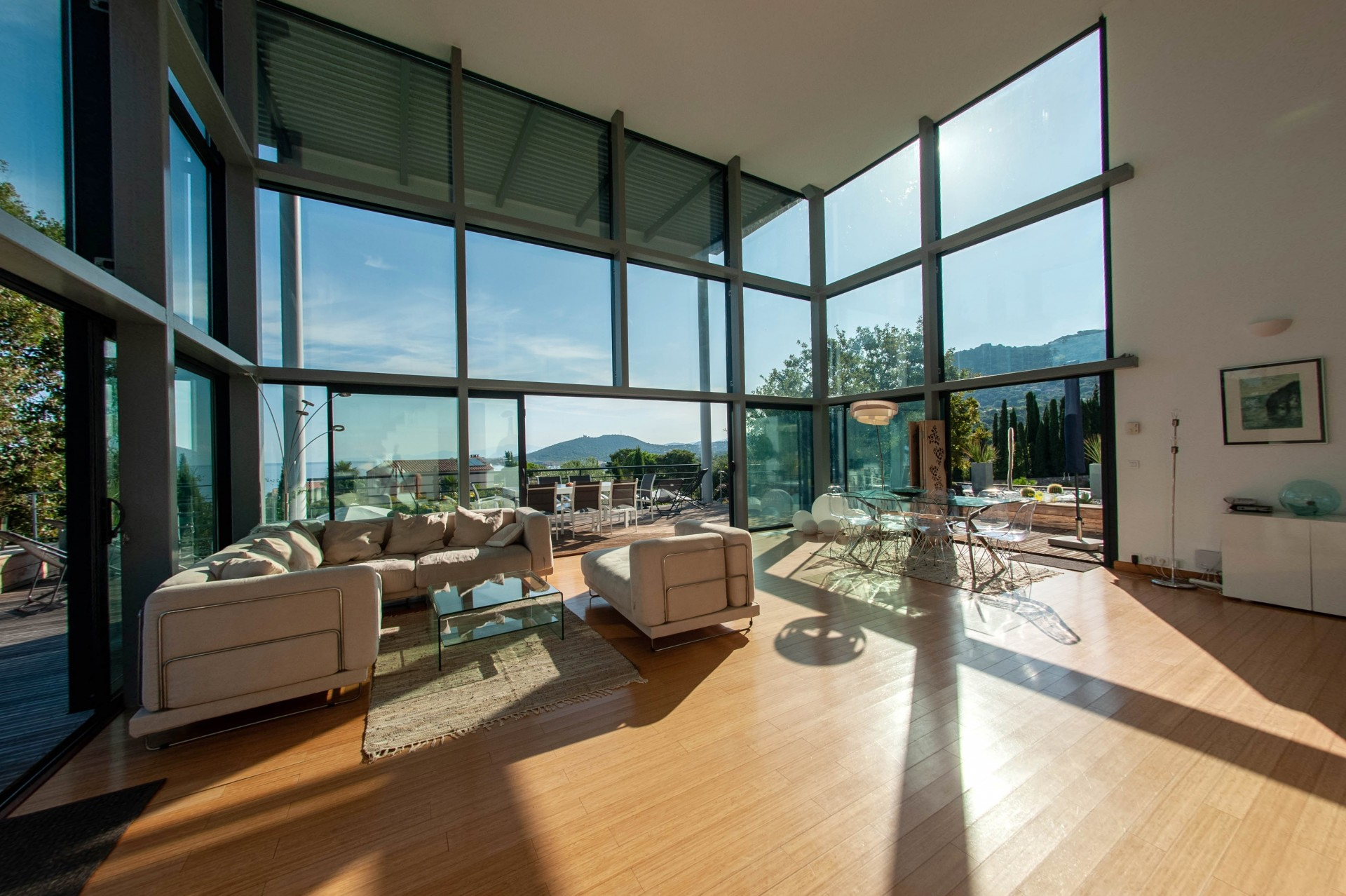Ile Rousse Location Villa Luxe Haubari Salon 1