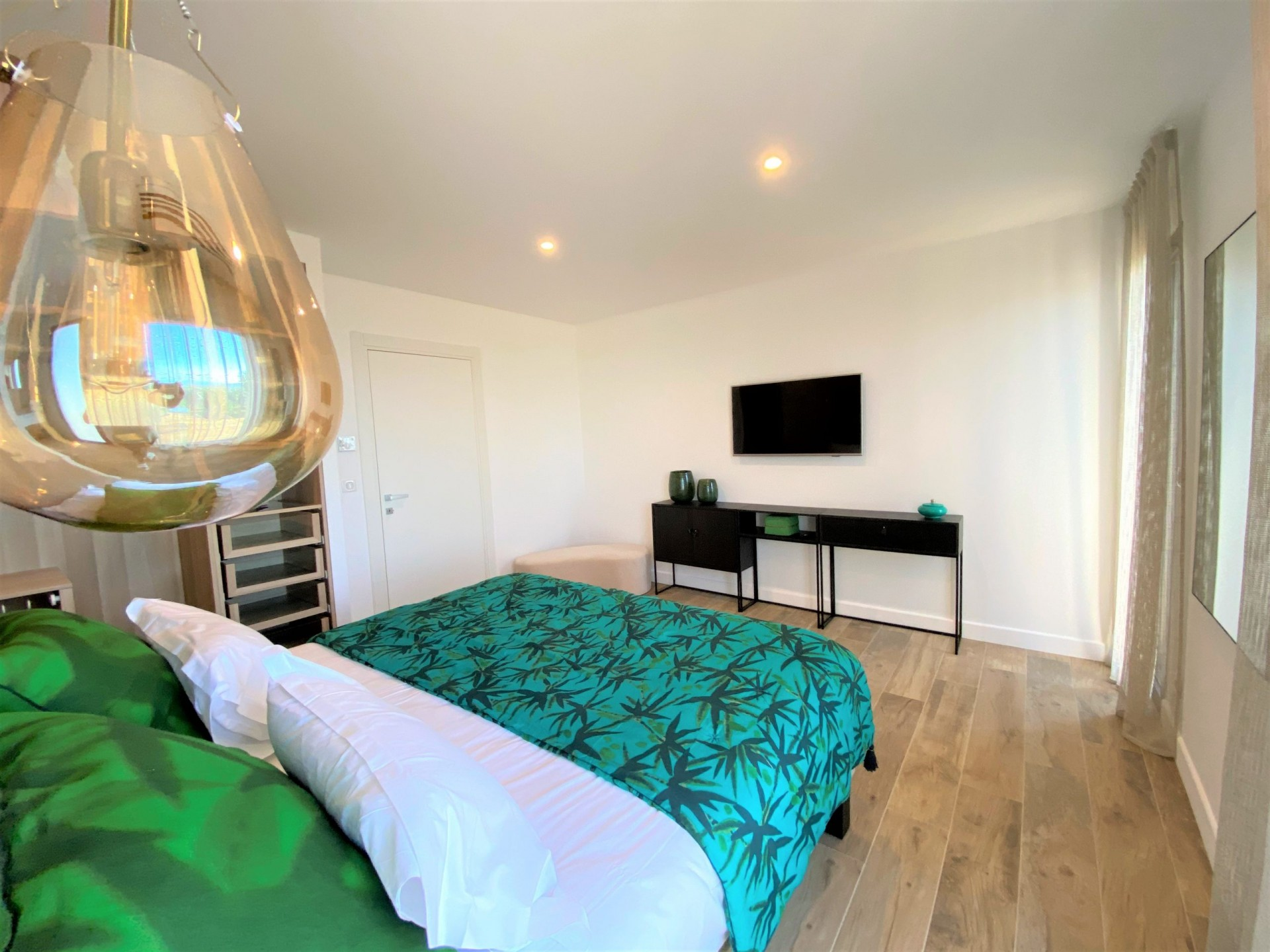 Ile Rousse Luxury Rental Villa Iris Violet Bedroom 2