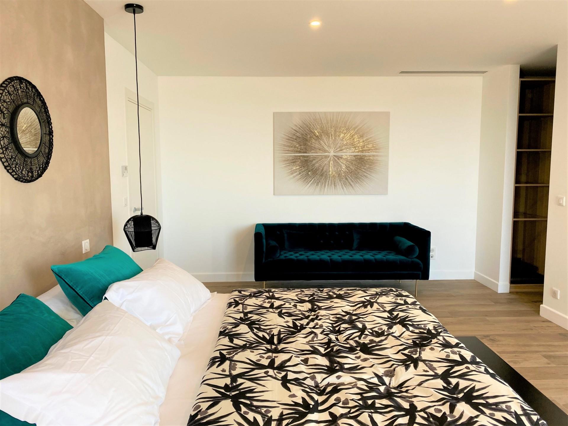 Ile Rousse Luxury Rental Villa Iris Violet Bedroom 3
