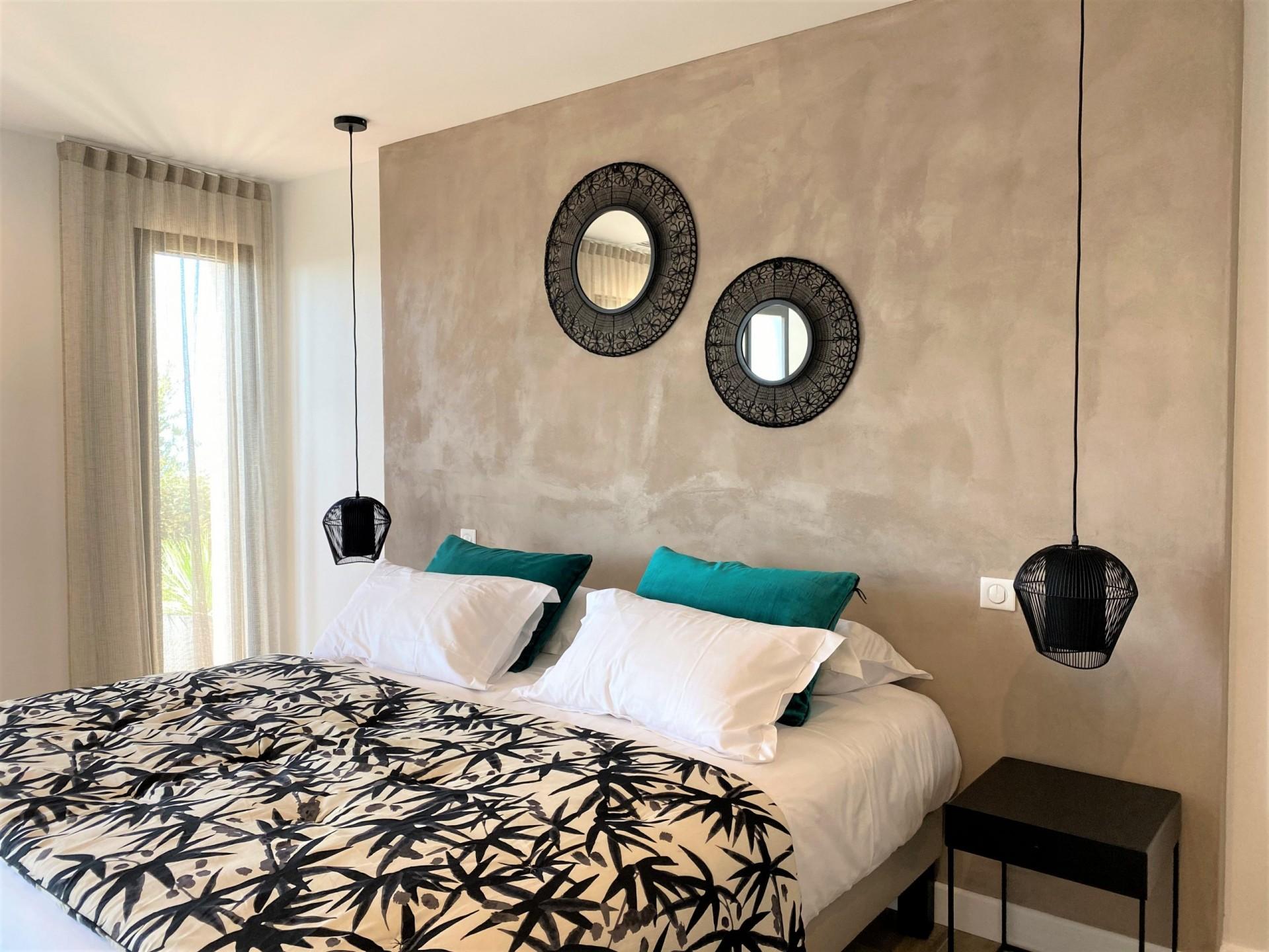 Ile Rousse Luxury Rental Villa Iris Violet Bedroom 8