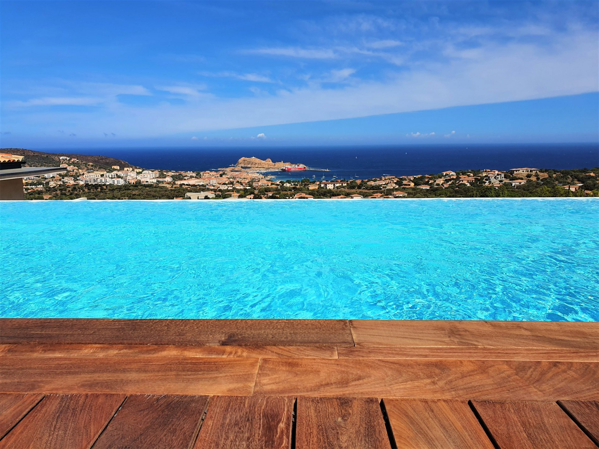 Ile Rousse Luxury Rental Villa Iris Violet Pool 2