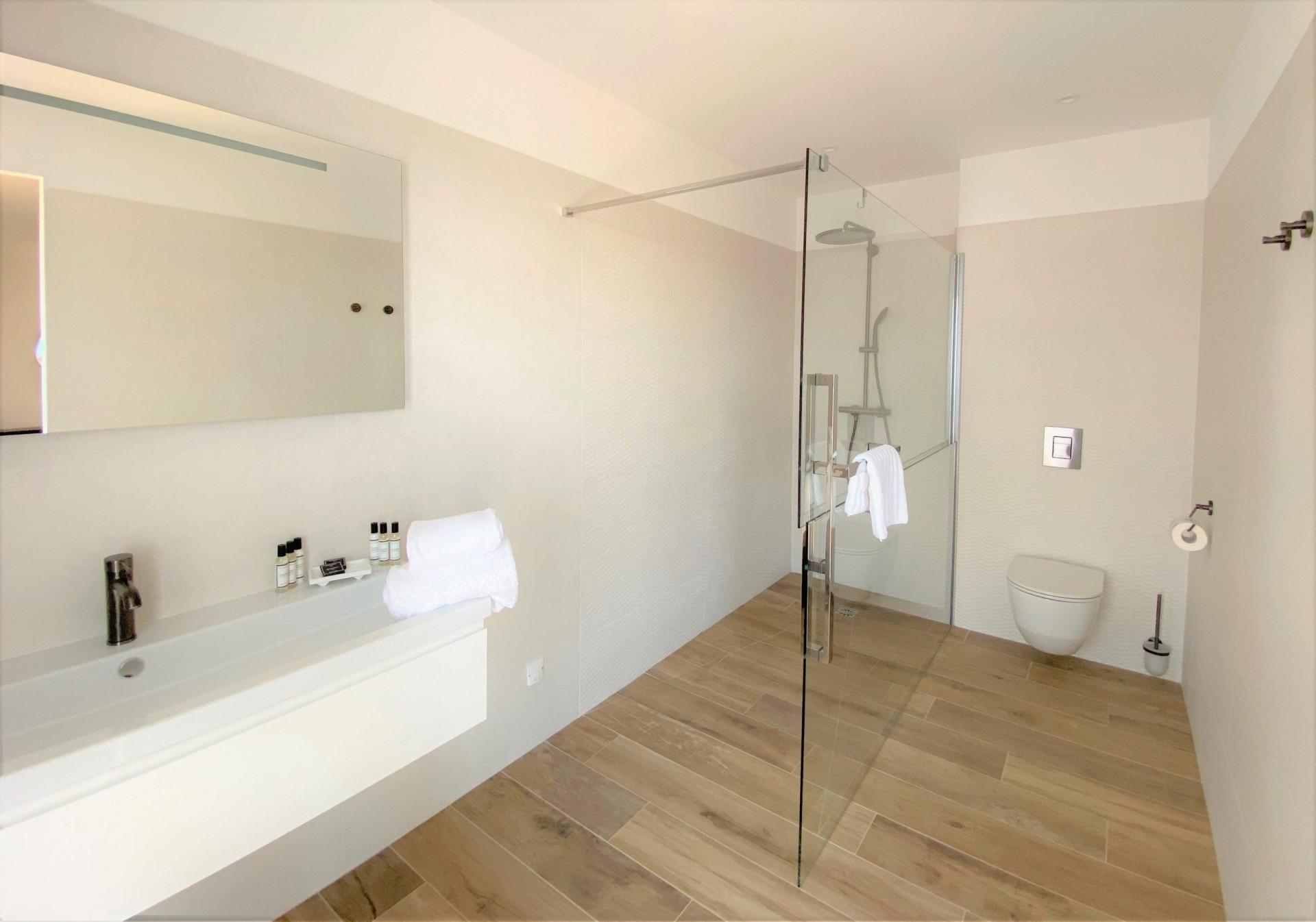 Ile Rousse Luxury Rental Villa Iris Violet Bathroom 2