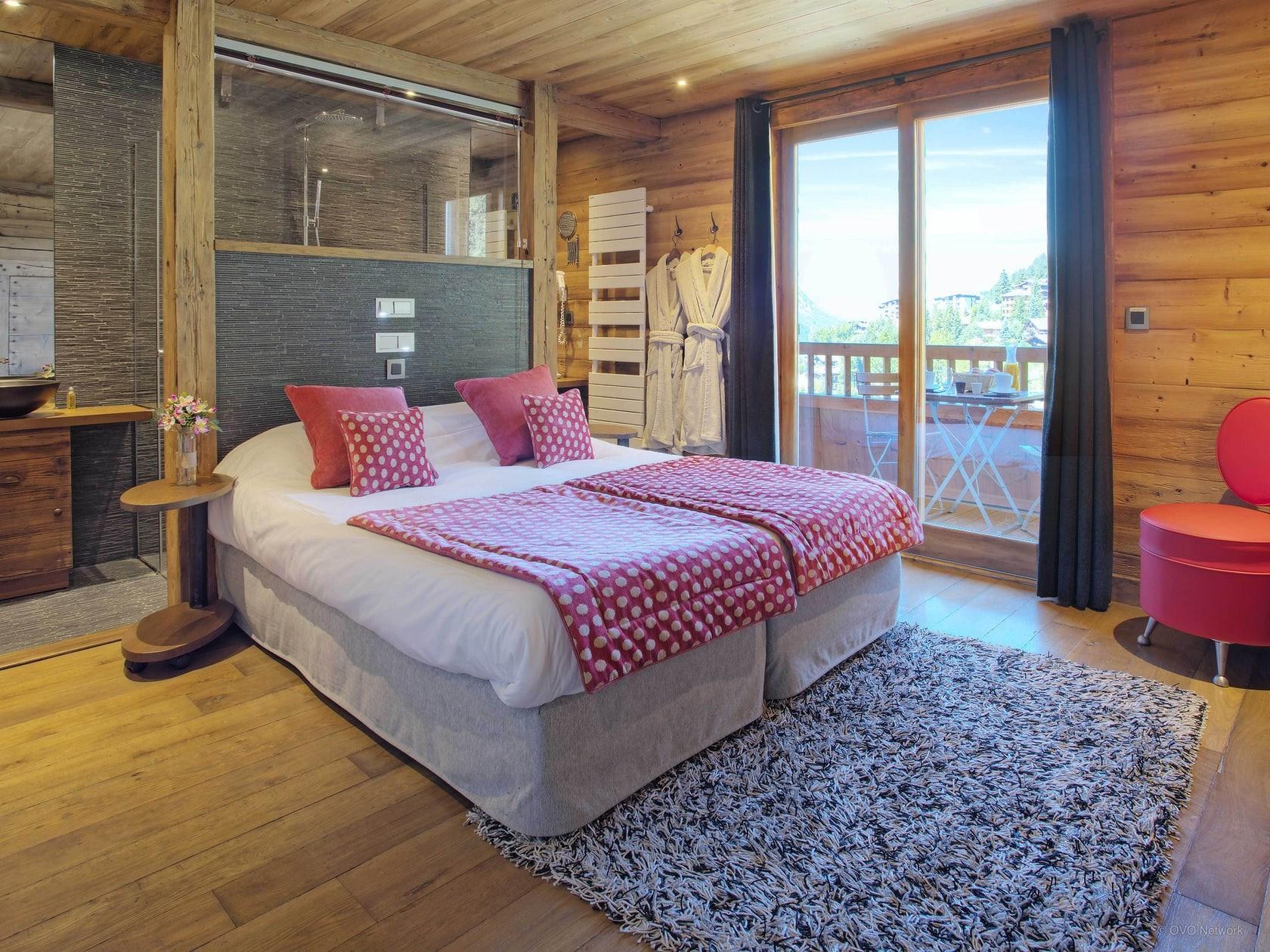 La Clusaz Location Chalet Luxe Lawsonite Chambre 1