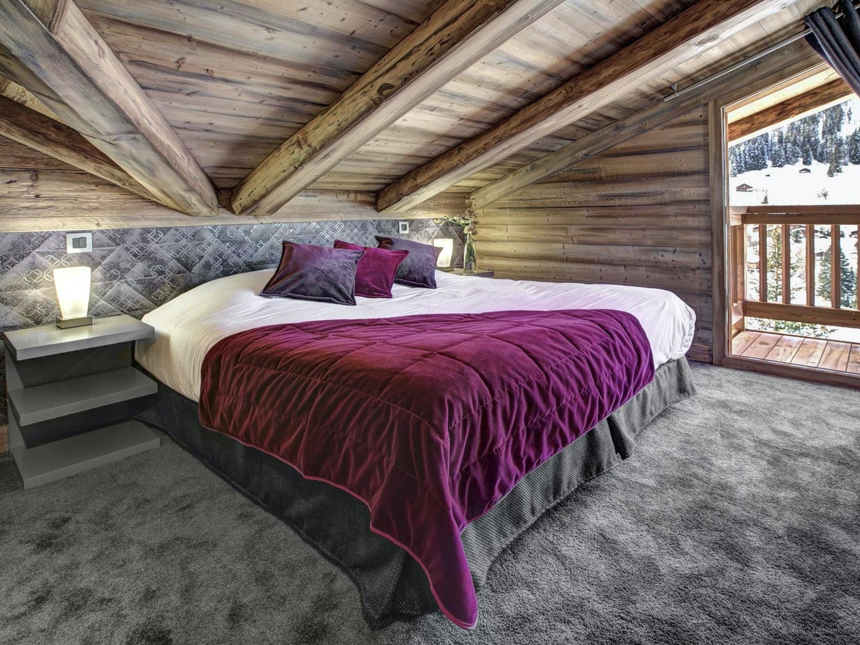 La Clusaz Location Chalet Luxe Lewidite Chambre