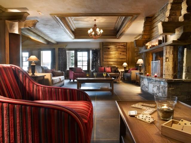 La Plagne Location Appartement Dans Résidence Luxe Jamesonite Duplex Réception
