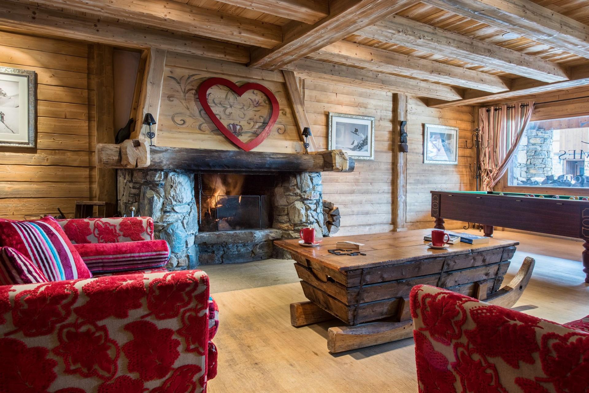 La Rosière Location Appartement Luxe Lynx Cyanite Réception