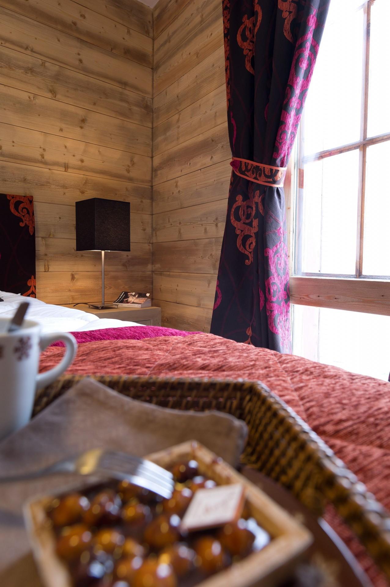 La Rosière Location Appartement Dans Résidence Luxe Radovanite Chambre 1