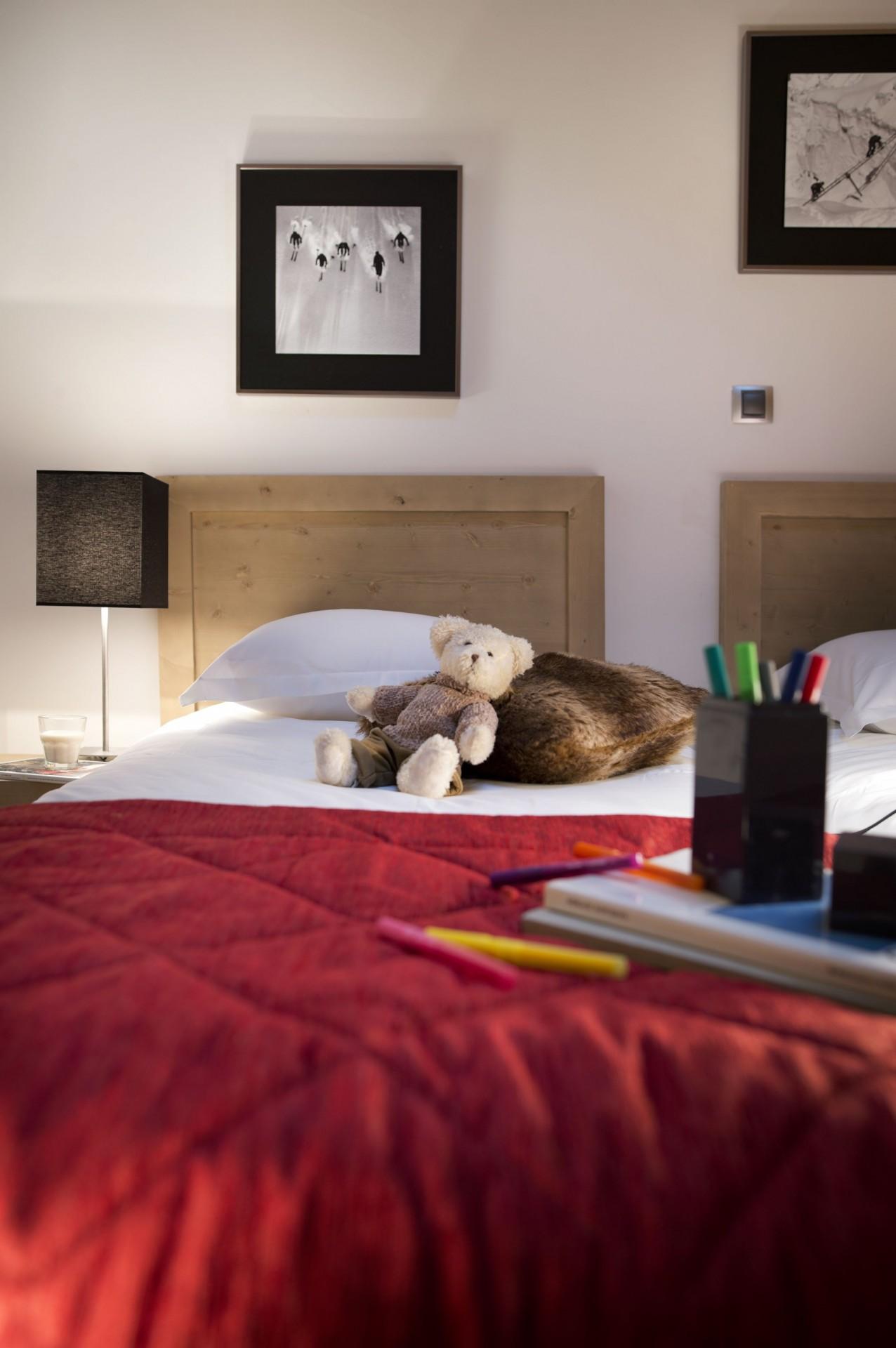 La Rosière Location Appartement Dans Résidence Luxe Radovanite Chambre 2