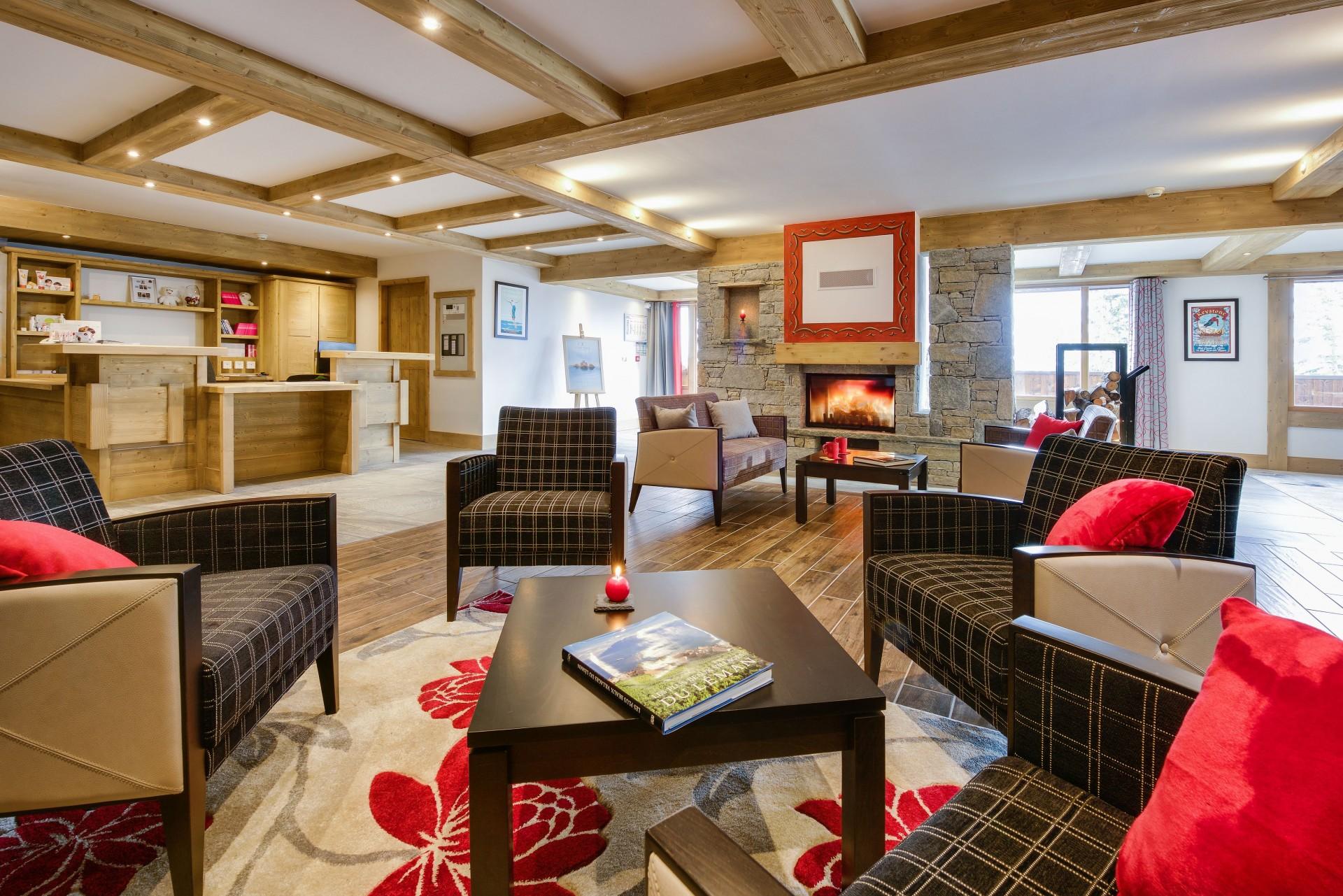 La Rosière Location Appartement Dans Résidence Luxe Radovanite Réception