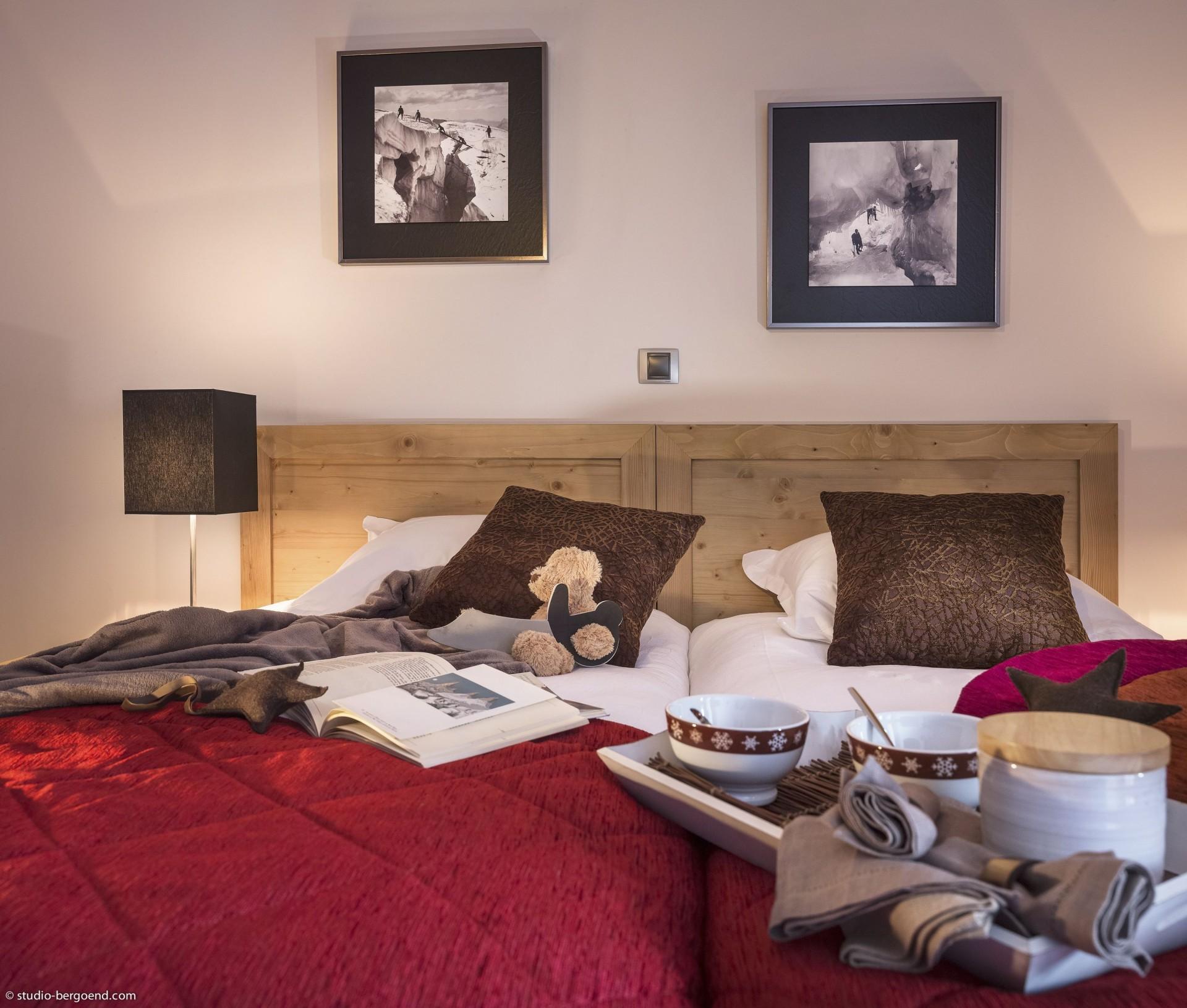 La Rosière Location Appartement Luxe Rathite Chambre