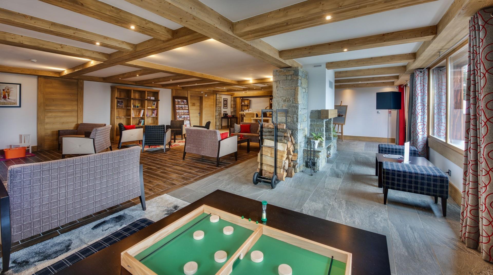 La Rosière Location Appartement Luxe Rosasite Réception