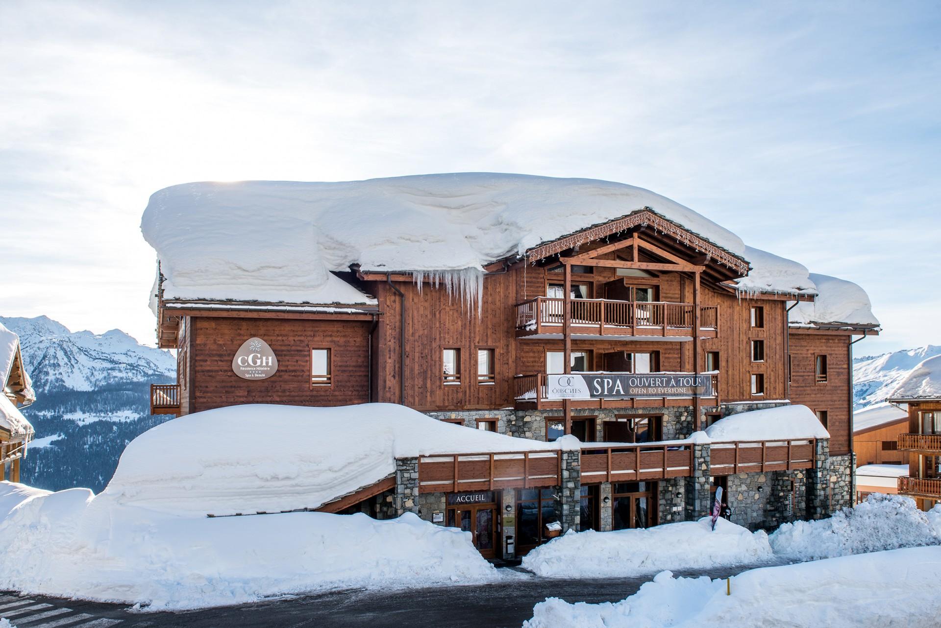 La Rosière Montvalezan Location Appartement Luxe Lynx Agate Duplex Extérieur 1