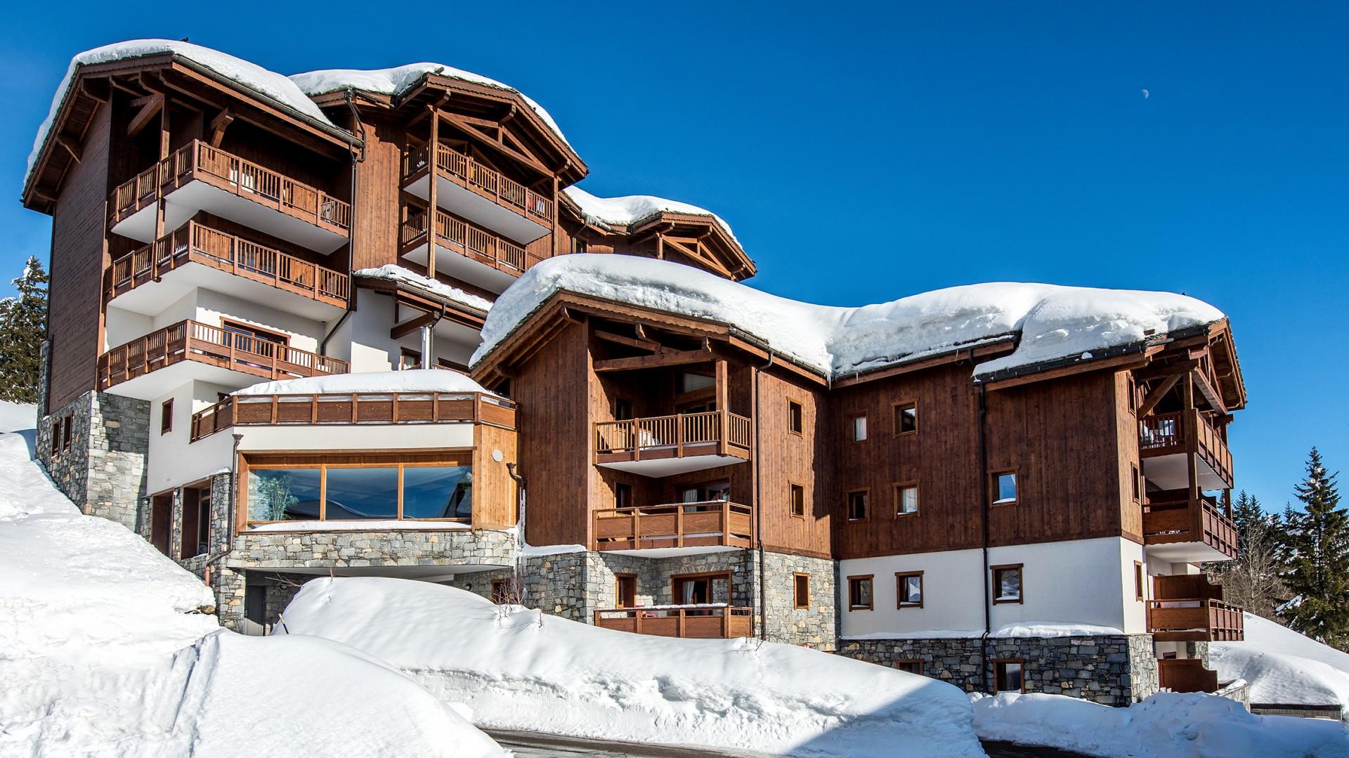 La Rosière Montvalezan Location Appartement Luxe Lynx Agate Duplex Extérieur