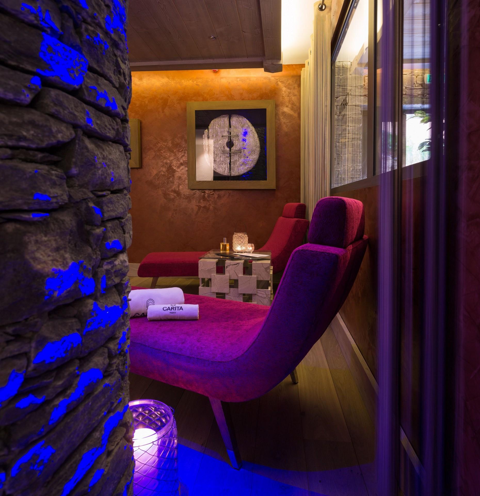 La Rosière Montvalezan Location Appartement Luxe Lynx Eye Espace Détente