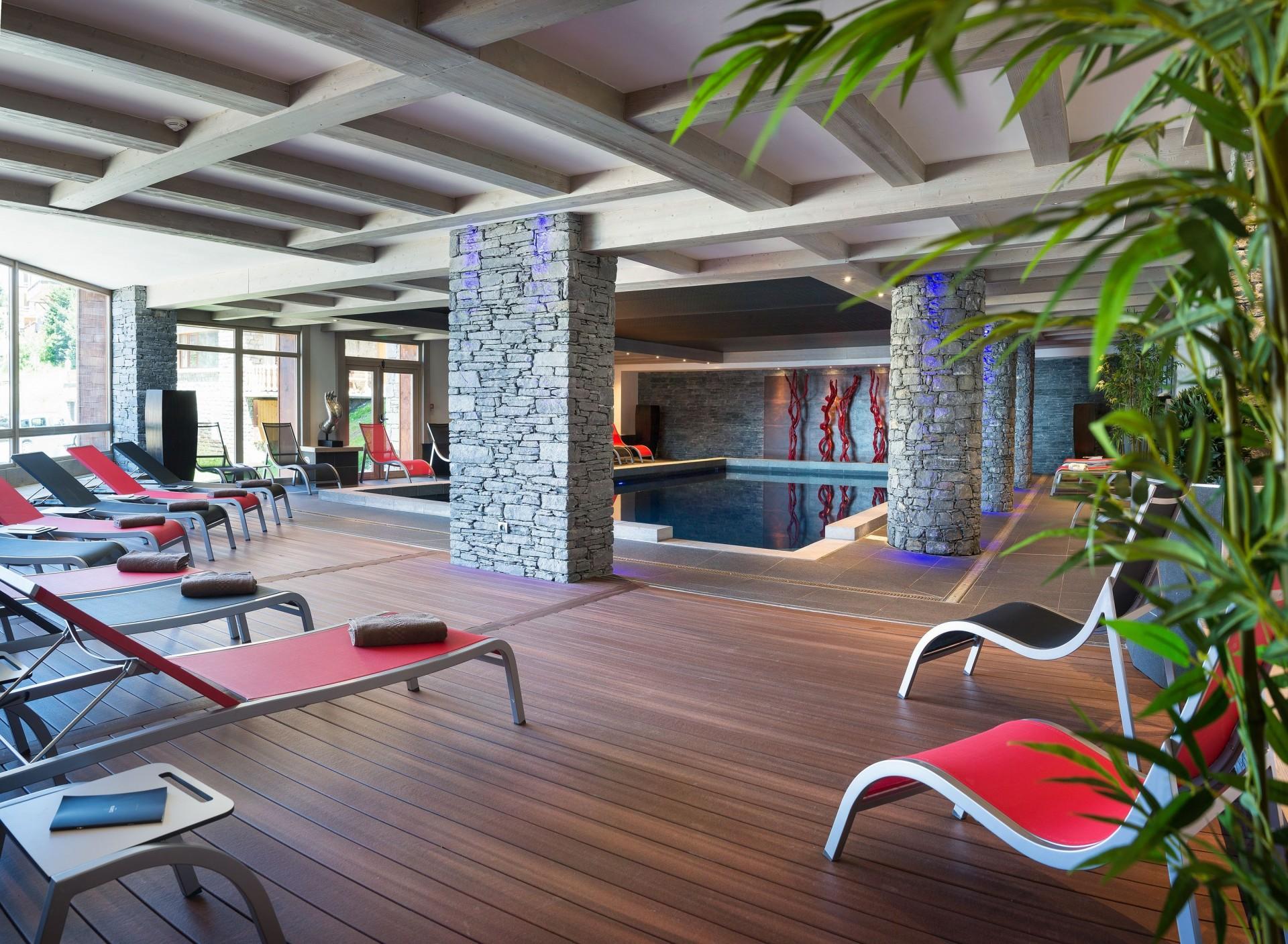 La Rosière Montvalezan Location Appartement Luxe Lynx Eye Piscine