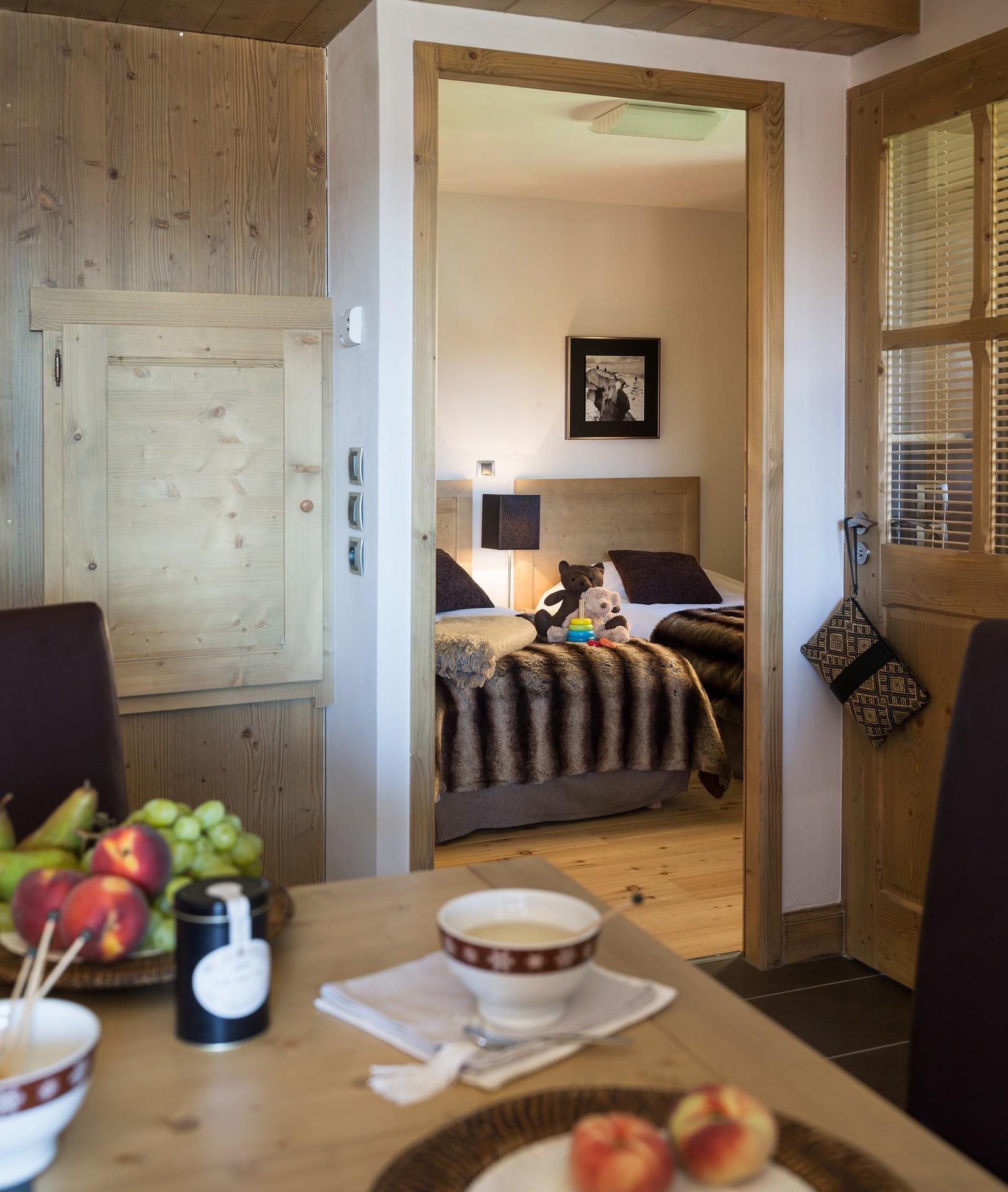 La Rosière Montvalezan Location Appartement Luxe Lynx Onyx Chambre 1