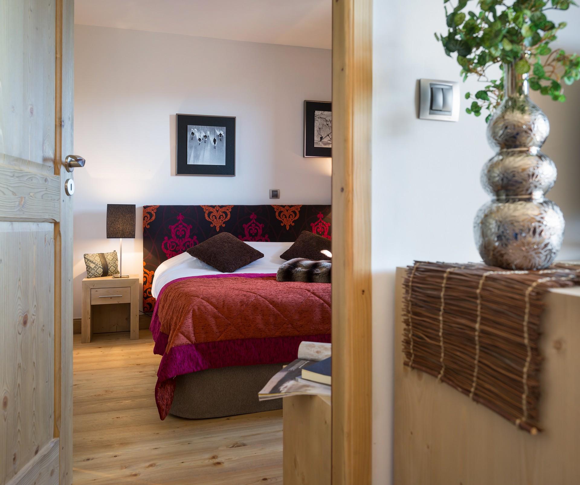 La Rosière Montvalezan Location Appartement Luxe Lynx Onyx Chambre