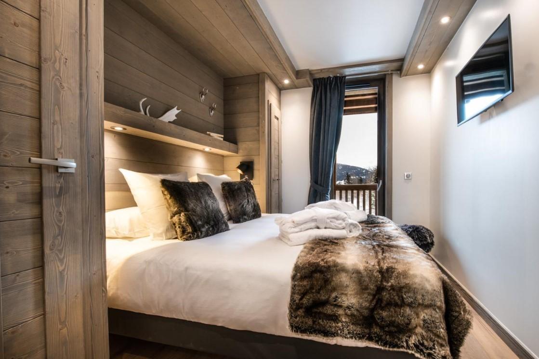 La Tania Location Chalet Luxe Alta Chambre 2