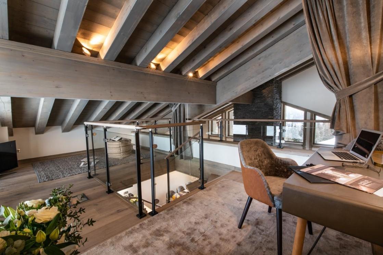 La Tania Location Chalet Luxe Alta Mezzanine