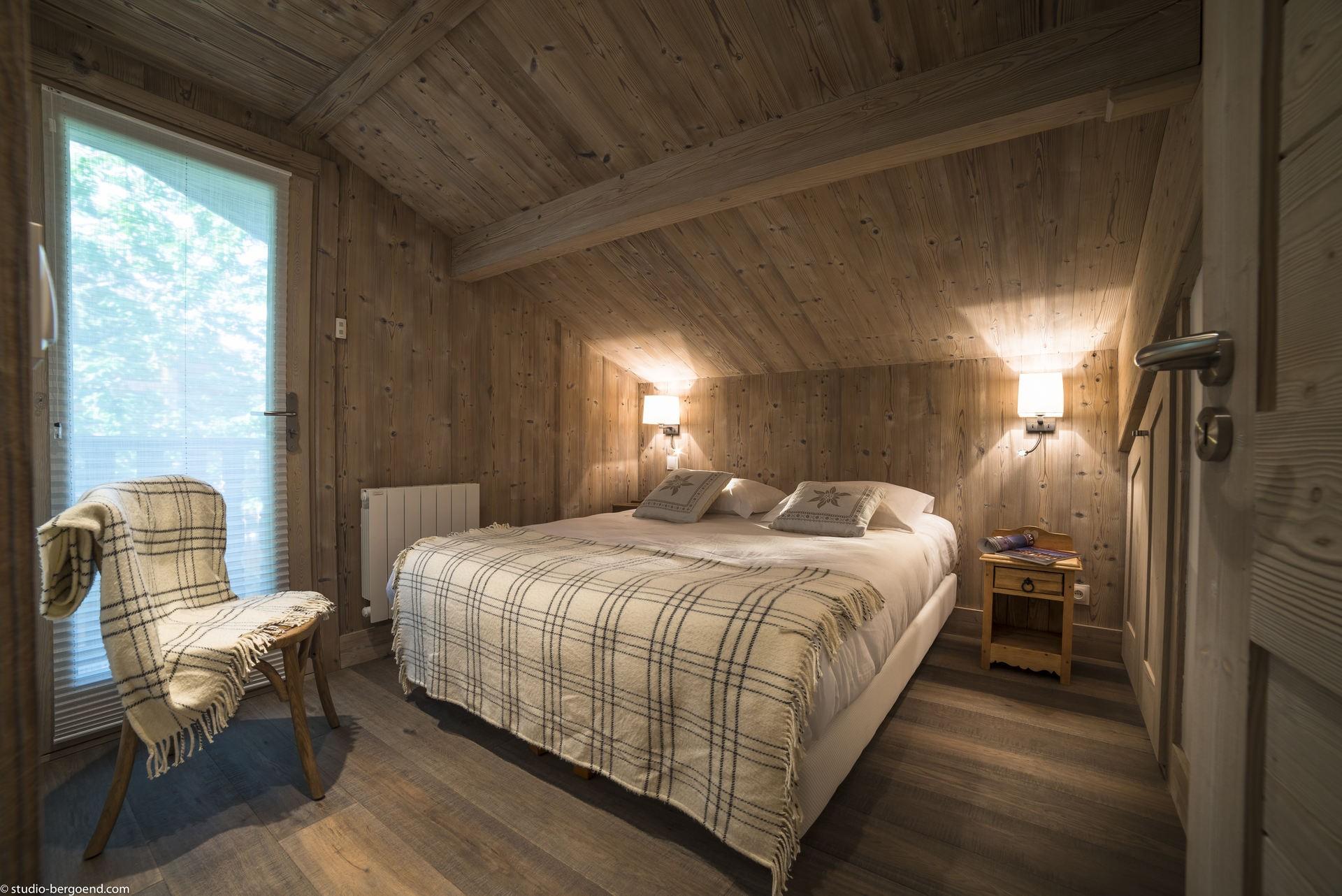 La Tania Location Chalet Luxe Counite Chambre4