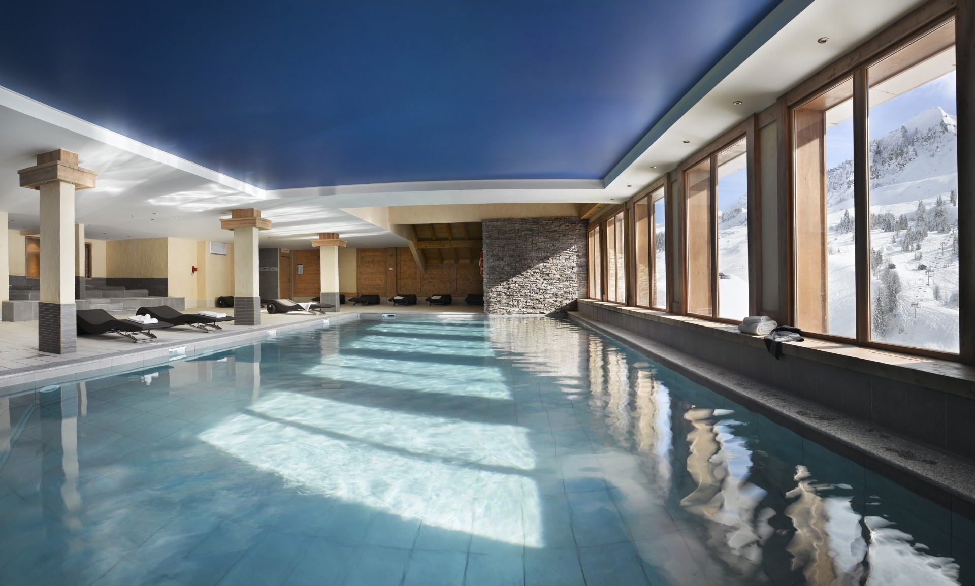 Le Grand Bornand Location Appartement Luxe Leucite Duplex Piscine
