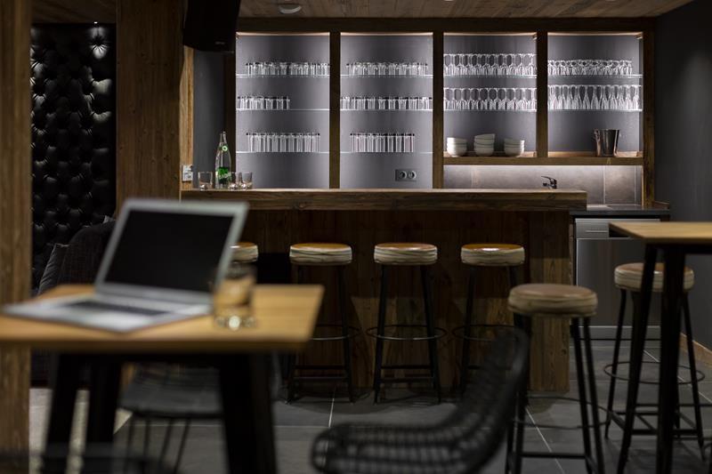 Le Grand Bornand Location Chalet Luxe Leonate Bar