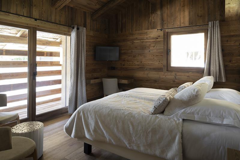Le Grand Bornand Location Chalet Luxe Leonate Chambre1