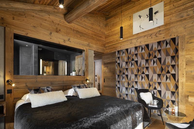 Le Grand Bornand Location Chalet Luxe Leonate Chambre12