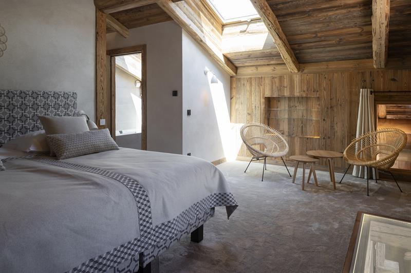 Le Grand Bornand Location Chalet Luxe Leonate Chambre2