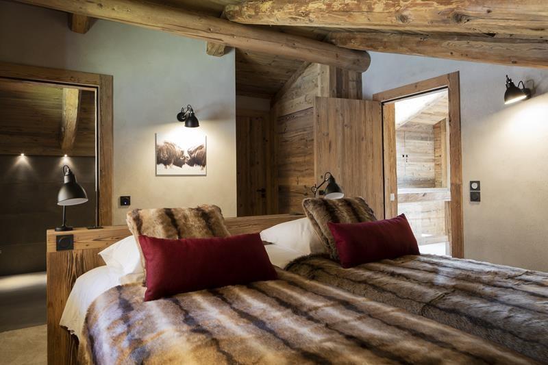 Le Grand Bornand Location Chalet Luxe Leonate Chambre3