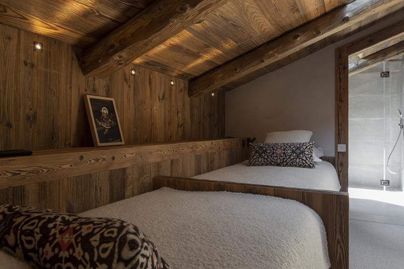 Le Grand Bornand Location Chalet Luxe Leonate Chambre4