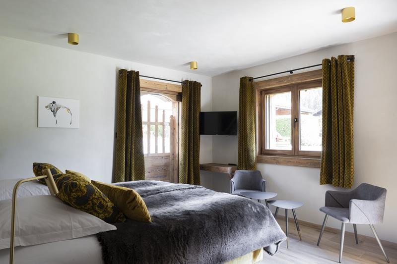 Le Grand Bornand Location Chalet Luxe Leonate Chambre5