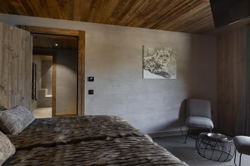 Le Grand Bornand Location Chalet Luxe Leonate Chambre6