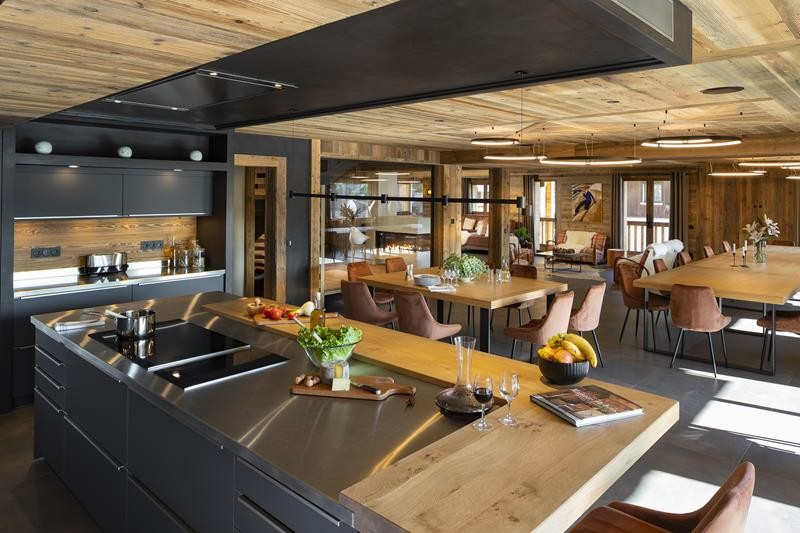 Le Grand Bornand Location Chalet Luxe Leonate Cuisine1