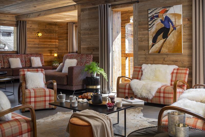 Le Grand Bornand Location Chalet Luxe Leonate Salon1