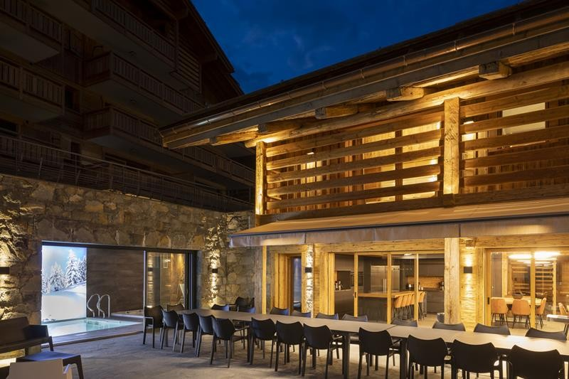 Le Grand Bornand Location Chalet Luxe Leonate Table A Manger