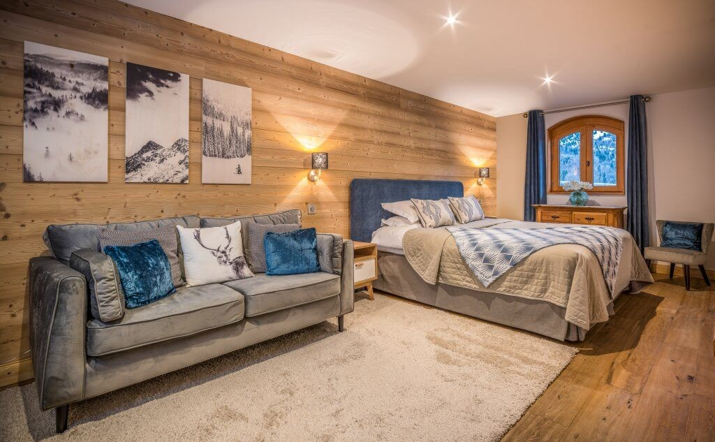 Les Allues Location Chalet Luxe Madocite Chambre 1
