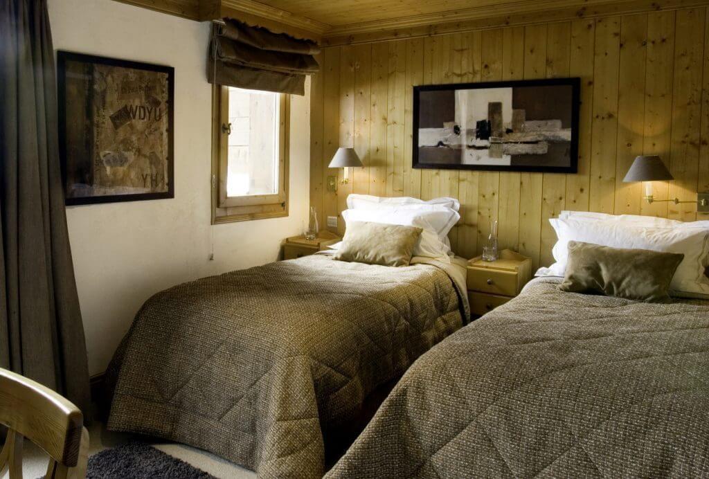 Les Allues Location Chalet Luxe Magnetite Chambre 1