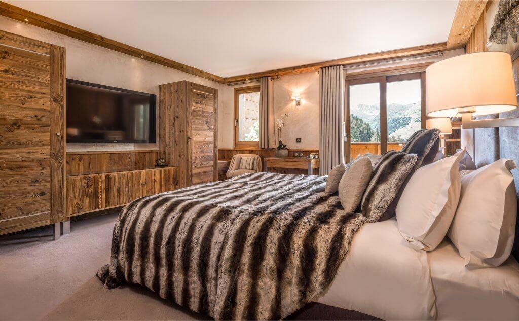 Les Allues Location Chalet Luxe Magnetite Chambre