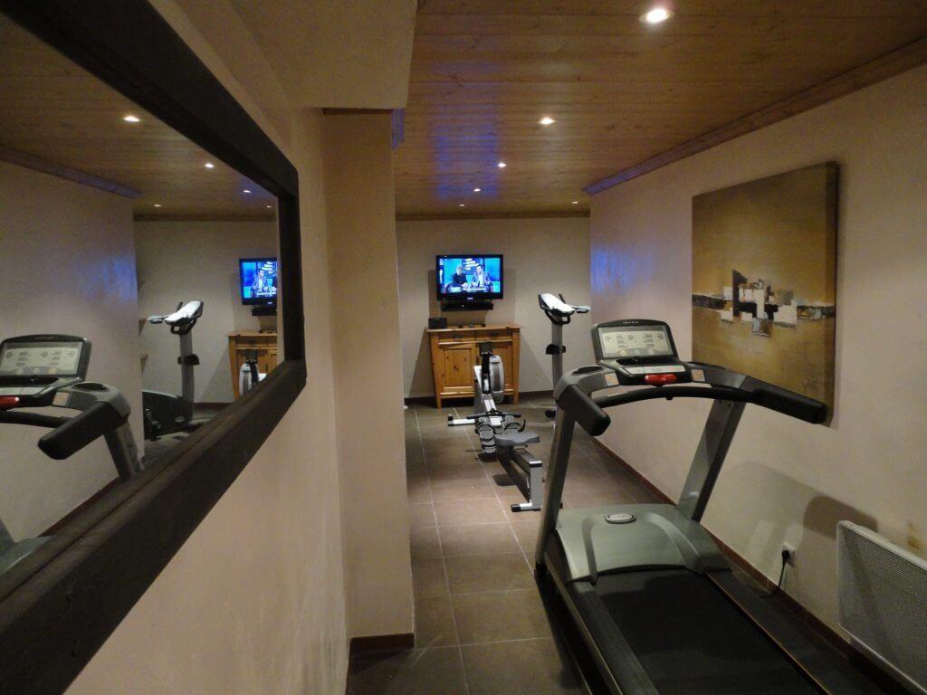 Les Allues Location Chalet Luxe Magnetite Salle De Fitness